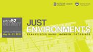EDRA 52 - Just Environments: transdisciplinary border crossing