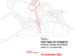 THE TIME OF STREETS   incisions, overlaps and rhythms