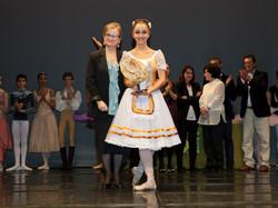 Nerea Astorga con Virginia Valero