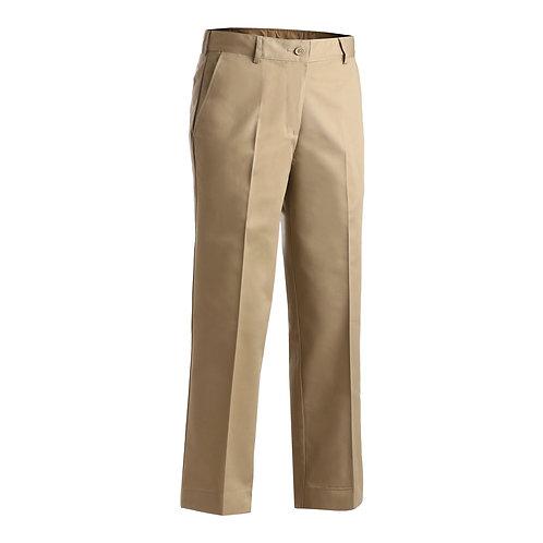 Ladies' Utility Flat Front Chino Pant
