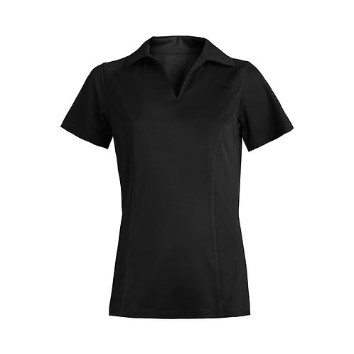 Ladies' Micro Pique Short Sleeve Polo