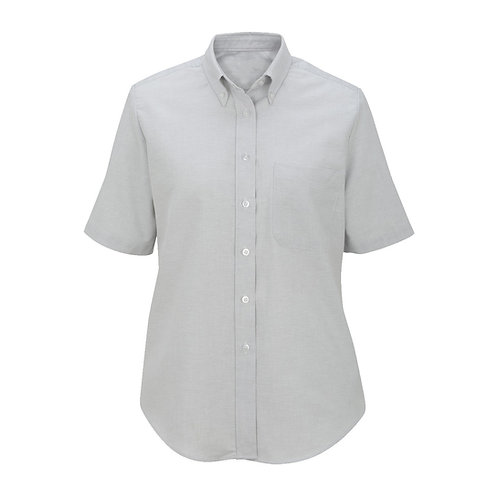 Ladies' Short Sleeve Oxford Shirt