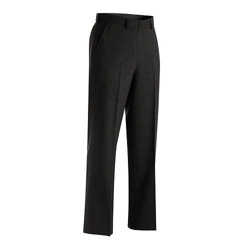 Ladies' Wool Blend Flat Front Dress Pant