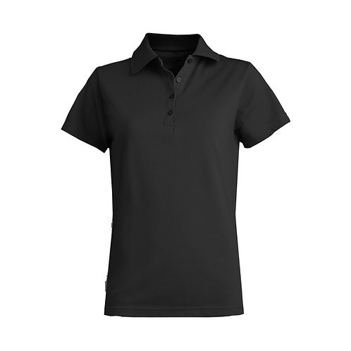 Ladies' Blended Pique Short Sleeve Polo