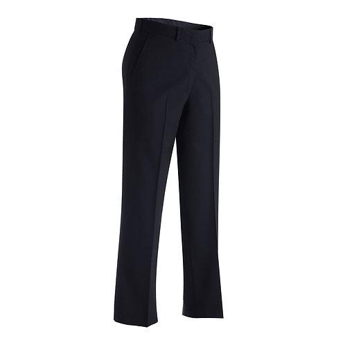 Ladies' Lightweight Wool Blend Flat Front Pant
