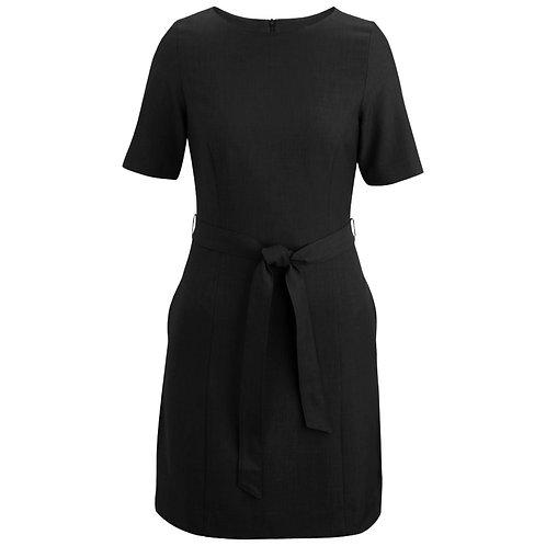 Ladies' Synergy Washable Jewel Neck Dress