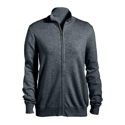 Ladies' Full Zip Fine Gauge Cardigan Sweater