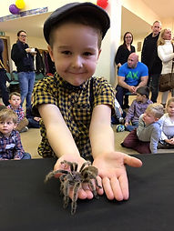 Tom's Talking Reptiles | Birthday Party | Animal Experience | Bug Birthday Party | Children | all abilities | SEN.  Vibrant, caring & professional | Outstanding Reviews | Experienced working with high net worth, high profiled individuals | Sir David Attenborough
