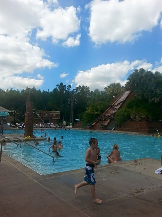 Resort Activities with Students