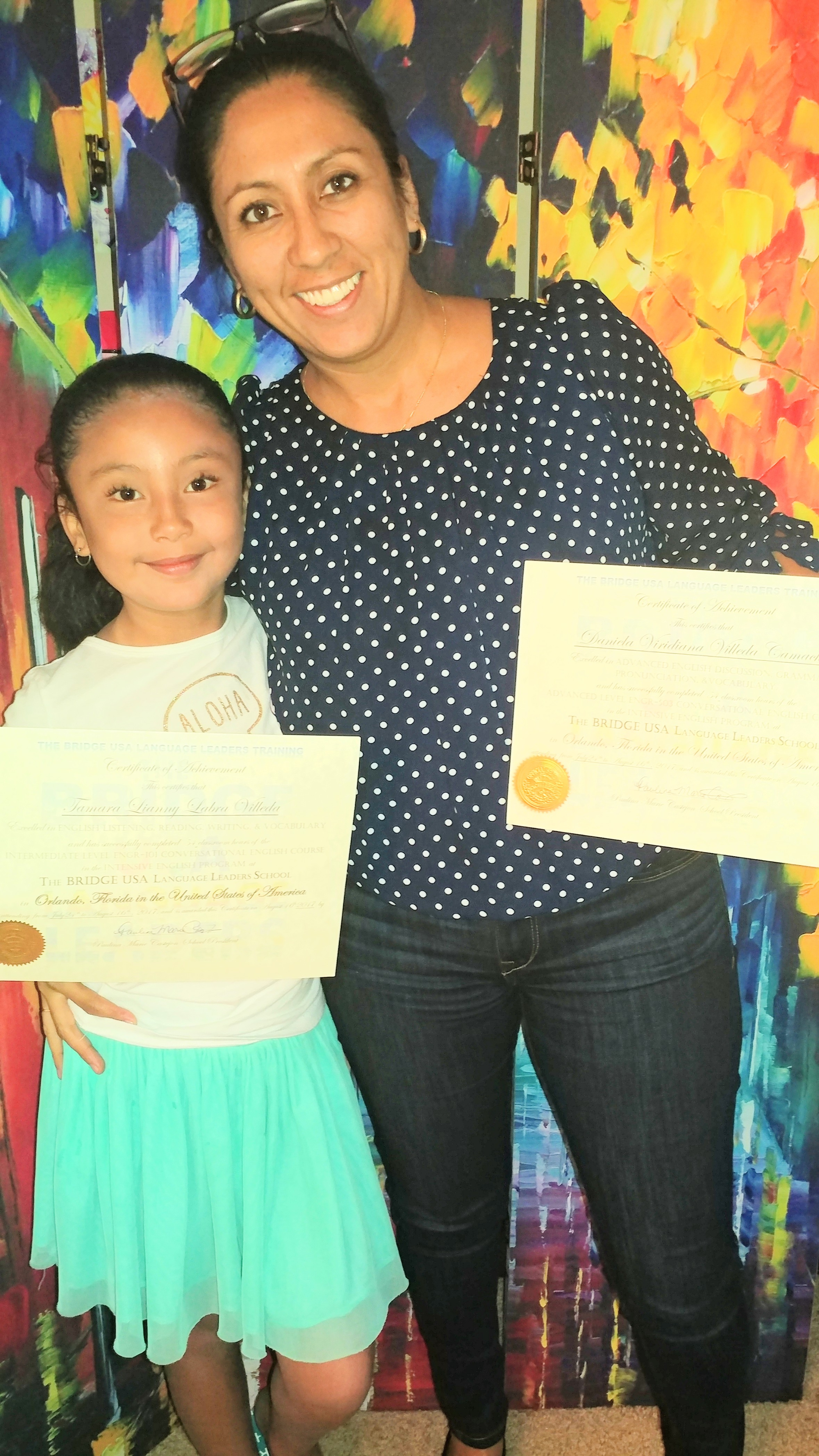 Congratulations Tamara & Daniela