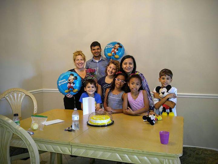 Thanks Abhishek S Bakshhi💙🎂!! You are the best! My 2nd birthday party!