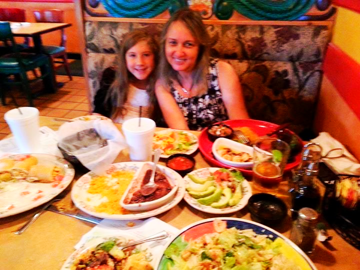 Facebook - Ay Dios mio! We are soooo full!!! With Paula Augusta after church dinner... www.real.life