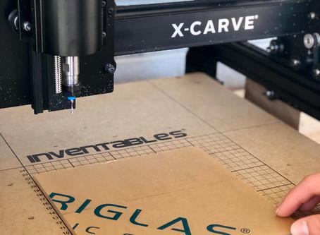 CNC carving setup!