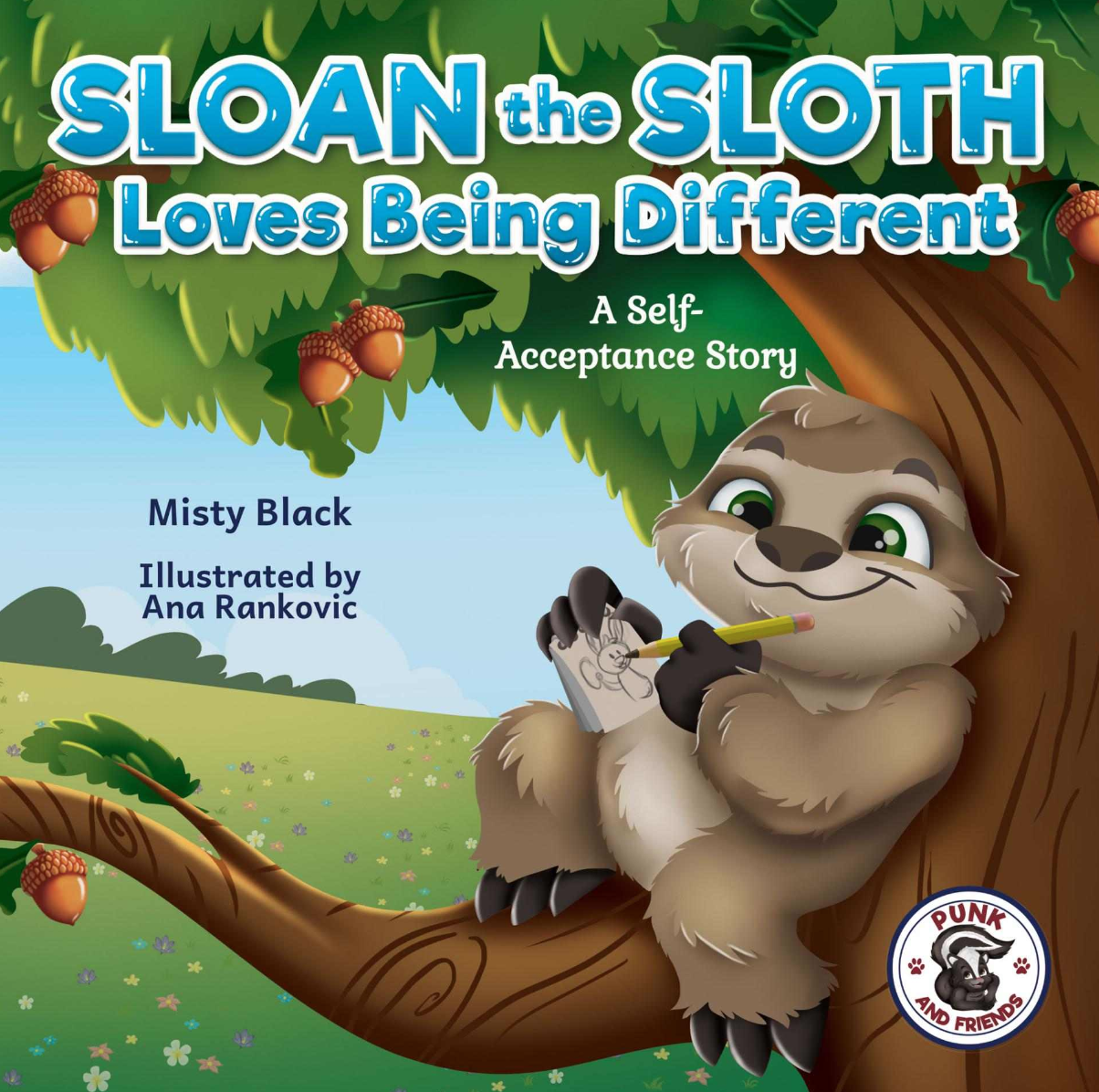 Sloan the Sloth Loves Being Different