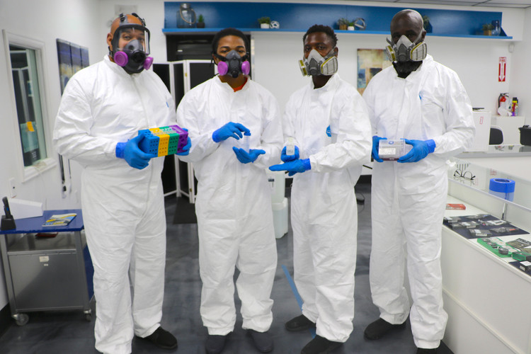 Covid Testing and Sanitization team