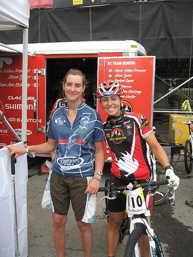 juste avant la course - 19 juillet 2008.