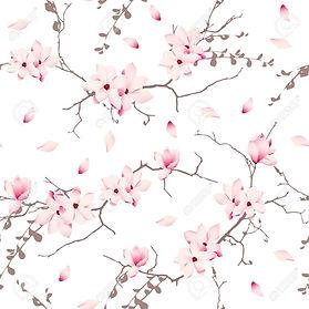 37176686-arbres-magnolia-fleur-de-motif-