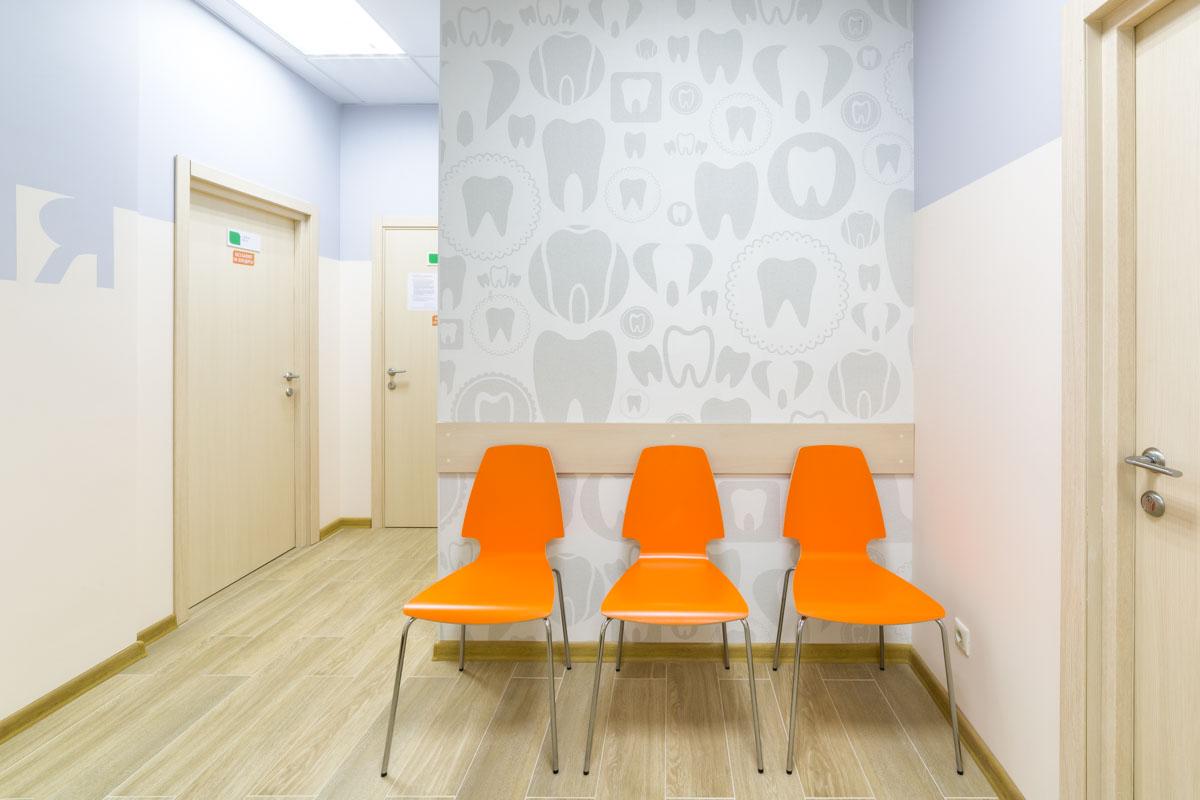 Зона ожидания в клинике
