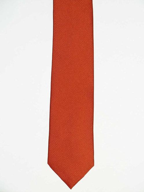 Seidenkrawatte Slim Uni 6,5 cm