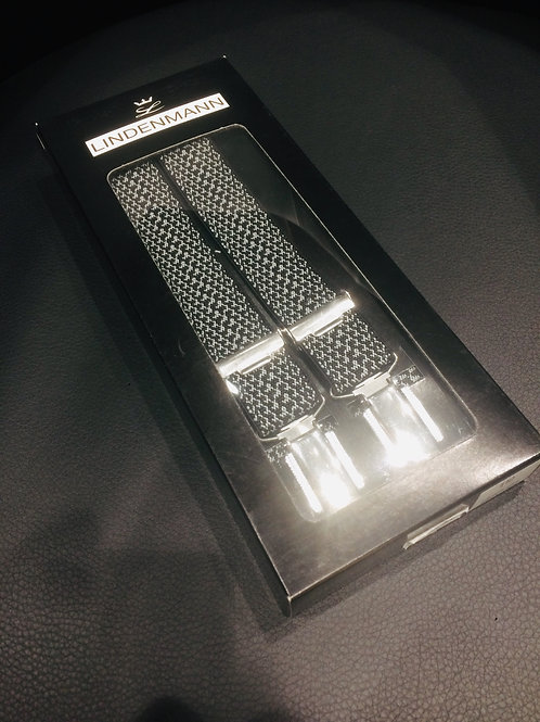 Hosenträger X-Form 25 mm breit