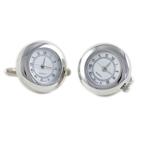 Manschettenknöpfe Uhr