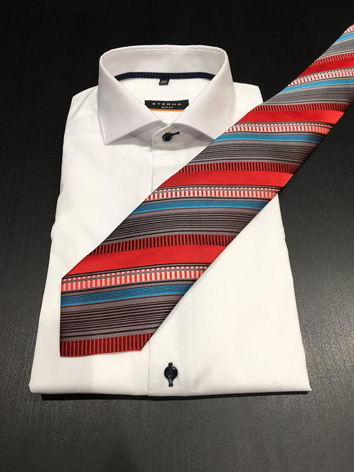 AKTION Krawatte mit Pochette, Muster