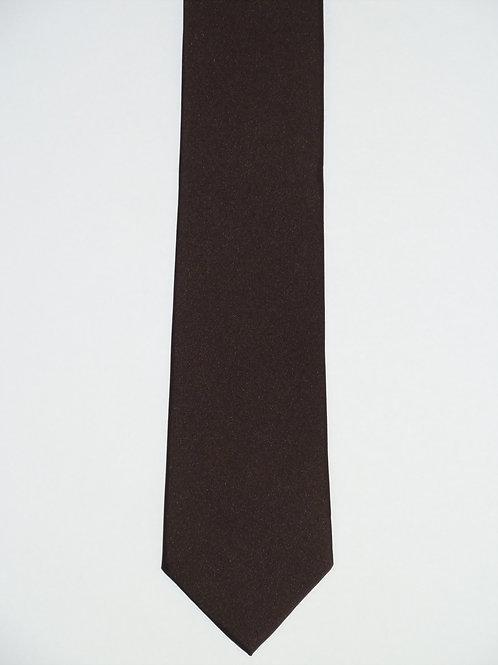 Seidenkrawatte Slim Uni 6,5 cm glatt
