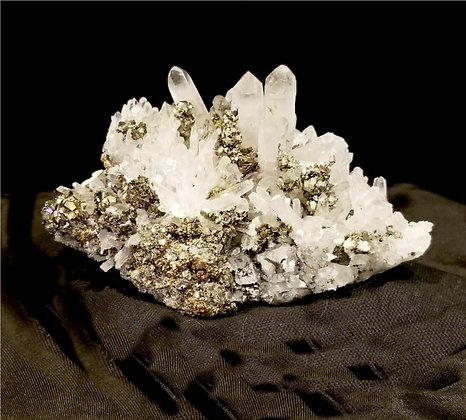 Quartz, Pyrite, Galena  (Peru) QPG360