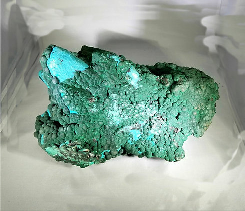 Azurite After Chrysocolla  (Chile) AC550