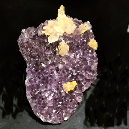Amethyst, Calcite Crystals (Brazil) AC400
