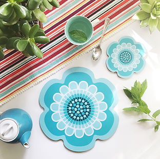 flower-power-placemat-and-coaster-teal.J