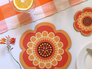 Add some Flower Power to your table