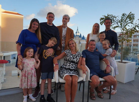 Never Too Old For A Family Hol