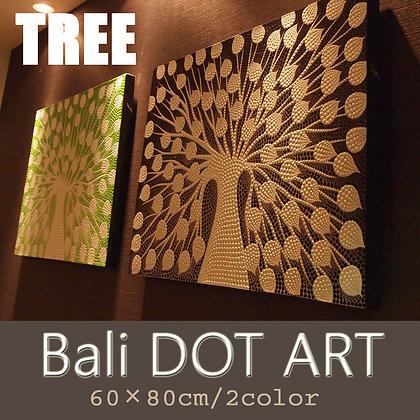 BALI ドットアート/TREE[60×80cm]