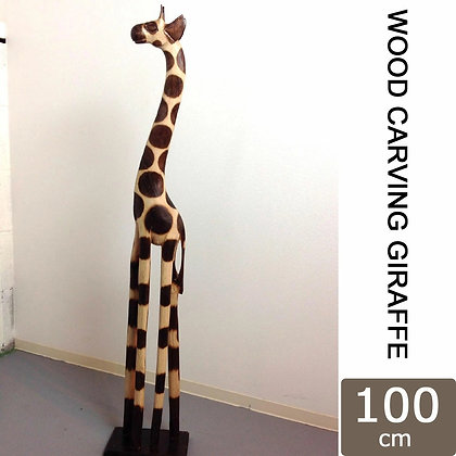 WOODCARVING GIRAFFE 100