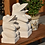 Thumbnail: BALI 石彫りかえる/あんぐり 高さ30cm
