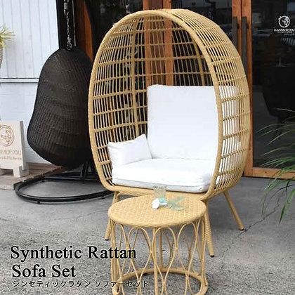 BALI シンセティックラタン ソファセット[Suite dome]