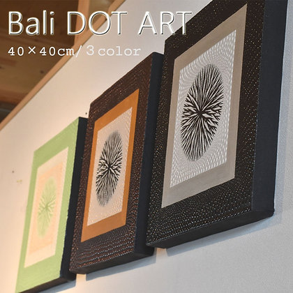 BALI ドットアート/MODERN[40×40cm]