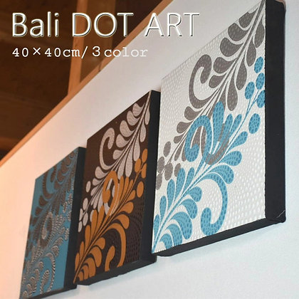 BALI ドットアート[クラシック][40×40cm]