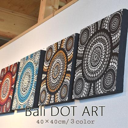 BALI ドットアート/DODODO[40×40cm]