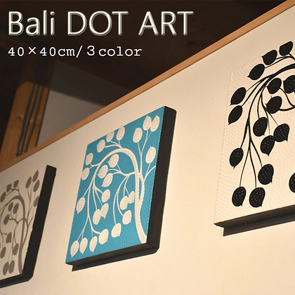 BALI ドットアート/NATURAL TREE[40×40cm]