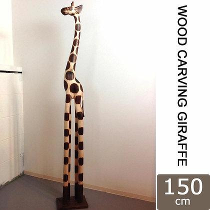 WOODCARVING GIRAFFE 150