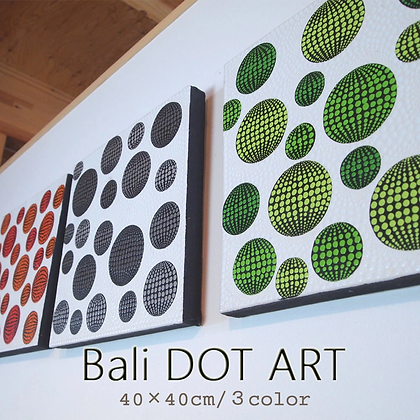 BALI ドットアート/DOT ga DOT[40×40cm]