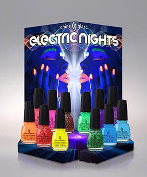 présentoir electric nights 12 pièces