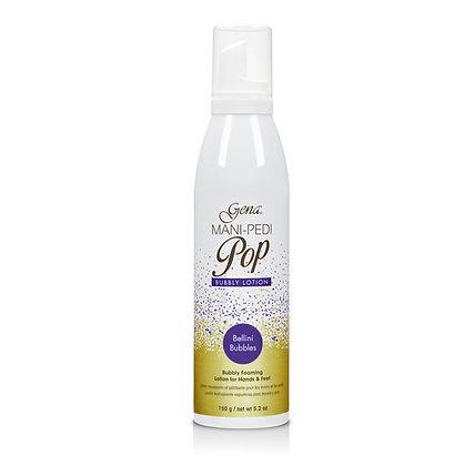 Spray Bellini bubbles