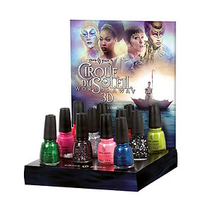 cirque du soleil, artiste, institut laugier, collection vernis à ongles, China Glaze
