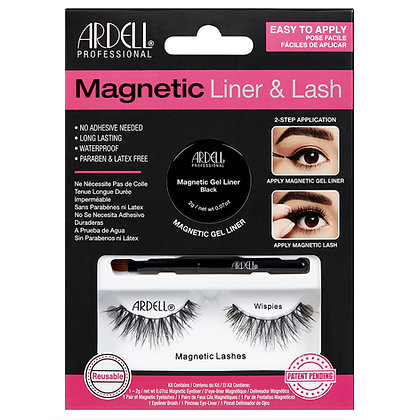 Kit de Faux-Cils magnétique avec Gel Eyeliner (2gr) Wispies