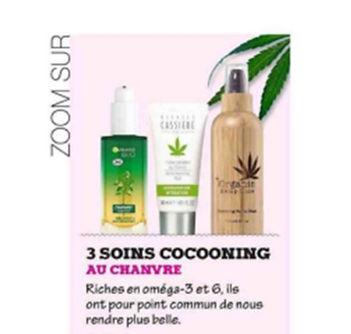 Chanvre naturel bio soins de peau