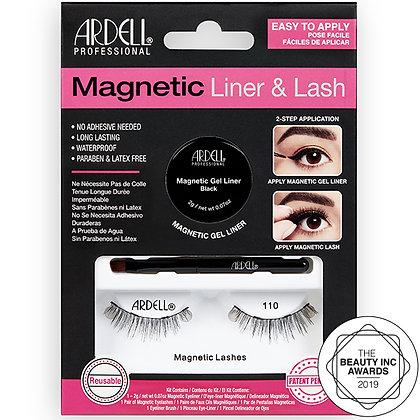 Kit Magnetic Eyeliner & Lash 110