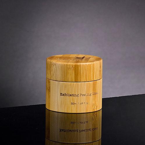 Masque exfoliant effet peeling à l'huile de graines de chanvre 50 ml